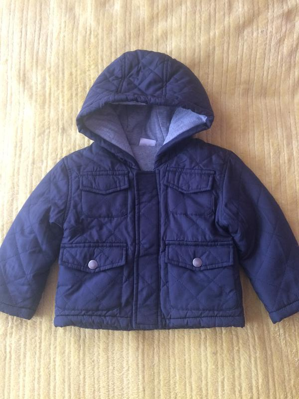 Демисезонная куртка f&f 86 см. 12-18 м.