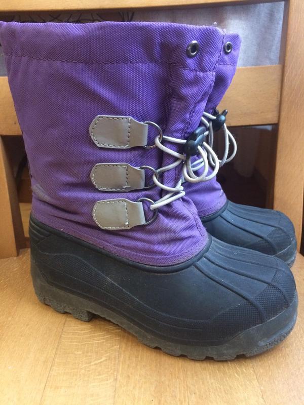 Сноубутсы зимние сапоги m'kinley 30- 31 р. 19.3 см.