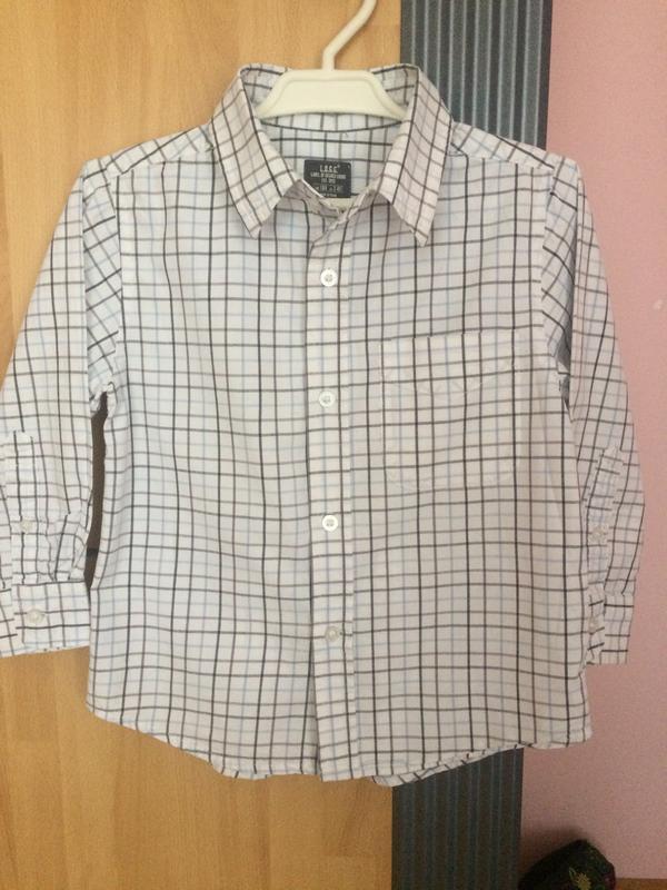 Фирменные рубашки h&m 104-110 см.