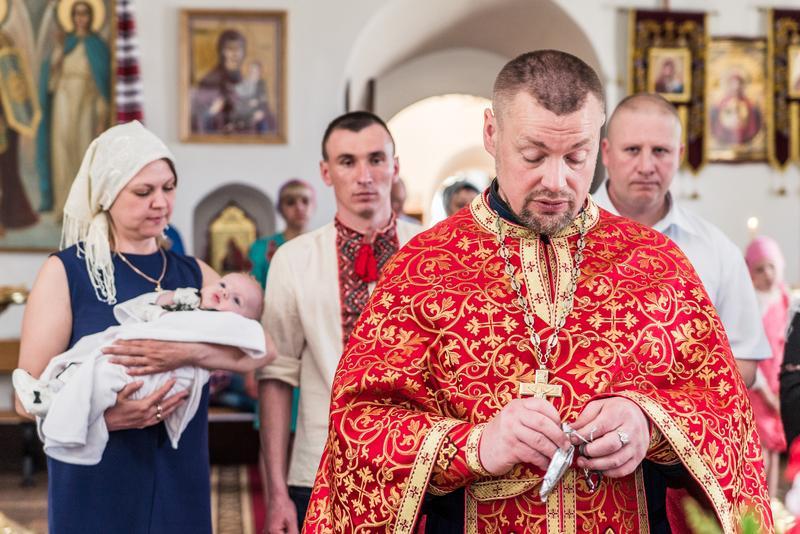 Фотосессия крестин, крещения