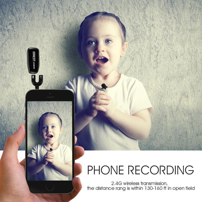 Микрофон для блогеров беспроводной XIAOKOA