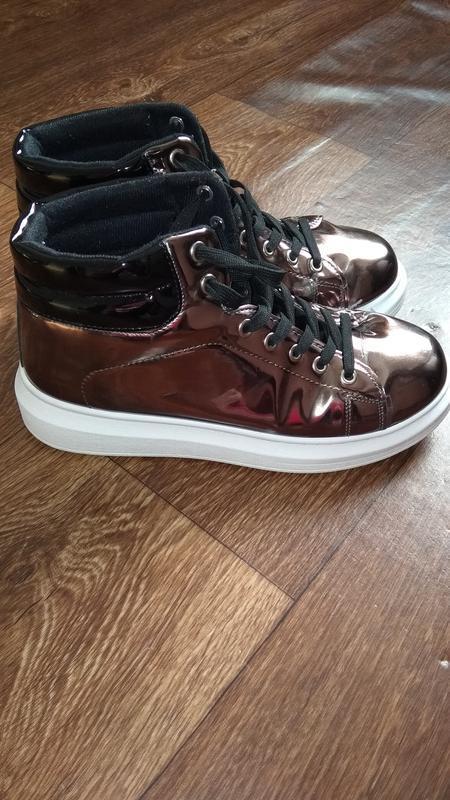 Хайтопы ботинки демисезонные женские