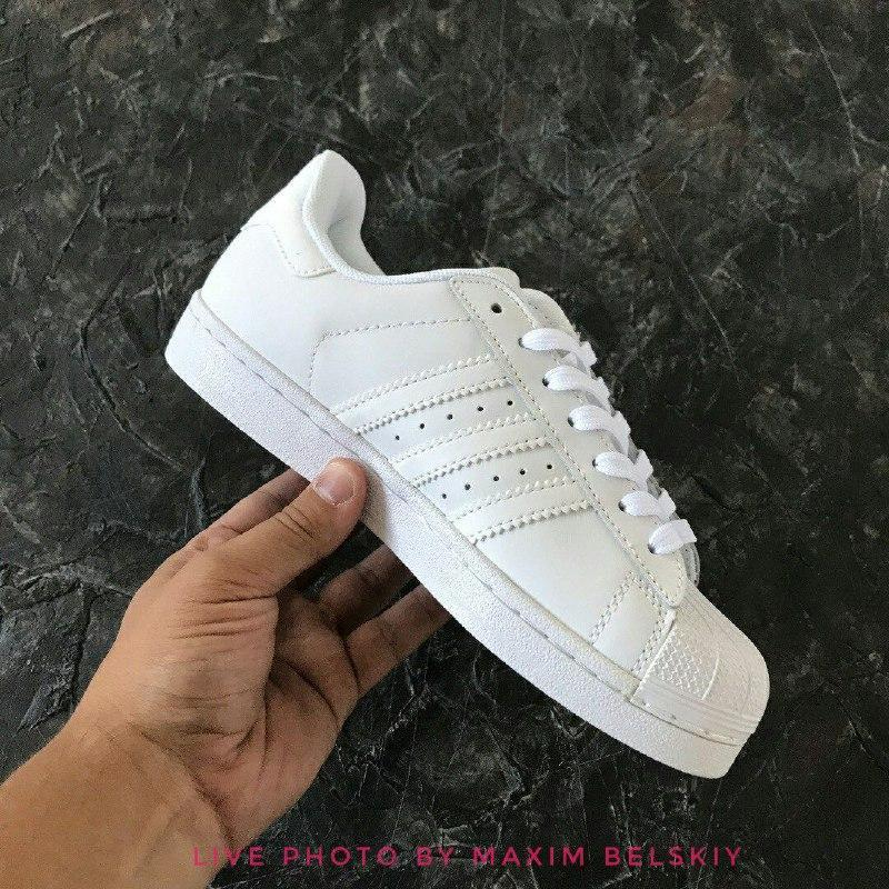 Нежные 36 37 38 39 40 41 42 43 44 adidas superstar white