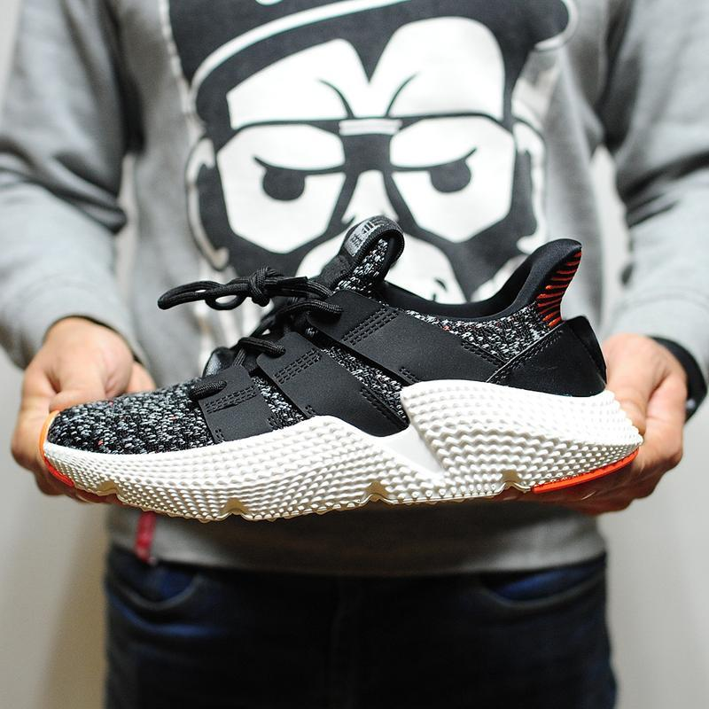 Adidas prophere core black solar red мужские кроссовки осень в...
