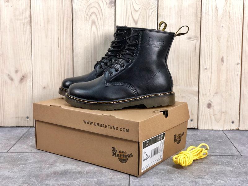 Шикарные ботинки dr. martens с мехом 36-45