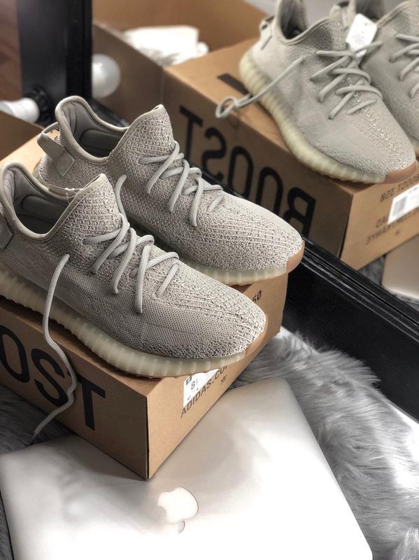 Adidas yeezy boost 350 beige мужские кроссовки люкс качество х...