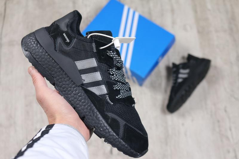 Шикарные мужские кроссовки adidas jogger cl black