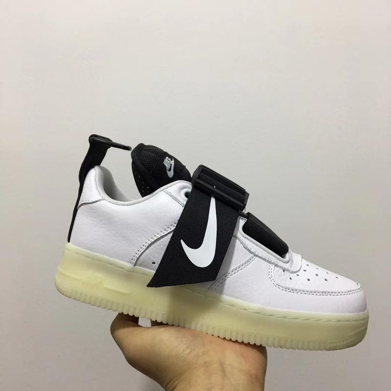 Шикарные женские кроссовки nike air force utility white