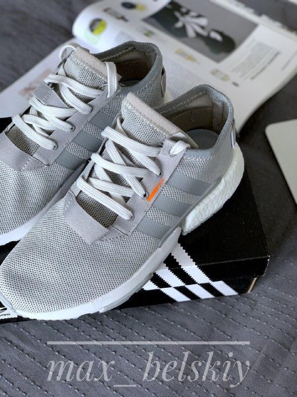 Шикарные мужские кроссовки adidas pod-s3.1 grey two/ grey two/...