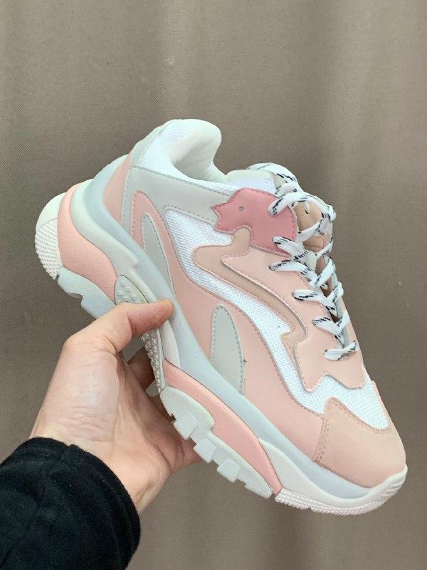 Шикарные женские кроссовки ash pink