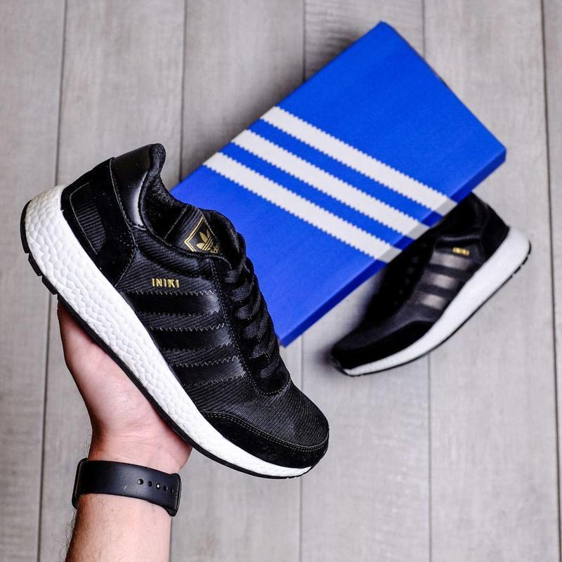 Кроссовки adidas iniki runner black