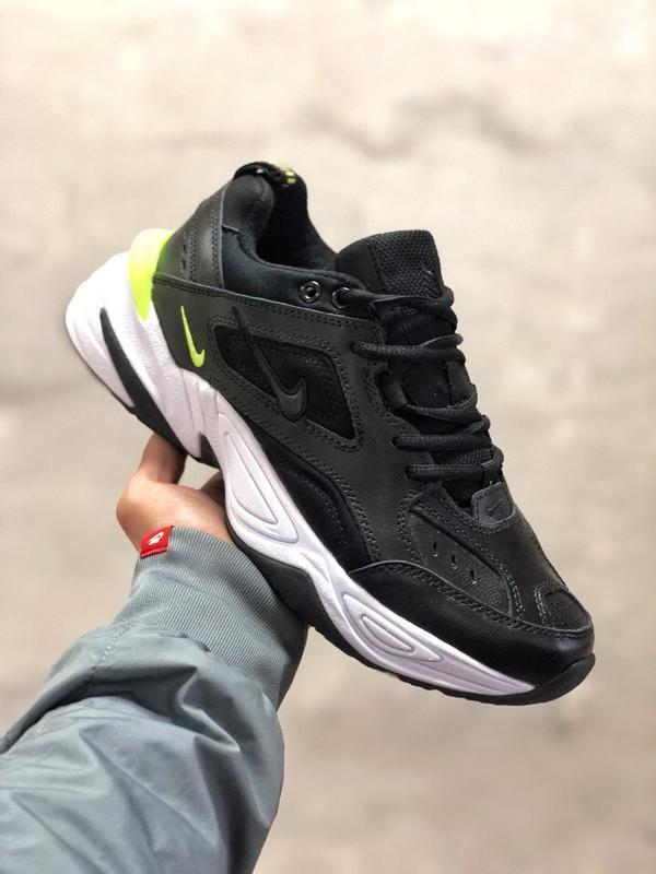 Шикарные женские кроссовки nike m2k tekno black