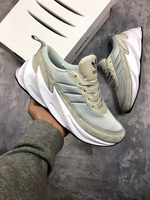 Мужские кроссовки adidas sharks grey