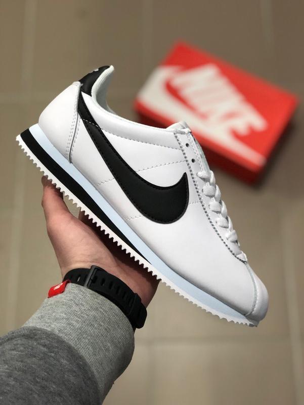 Шикарные кроссовки nike cortez white