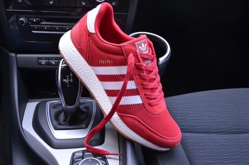 Мужские кроссовки adidas iniki red