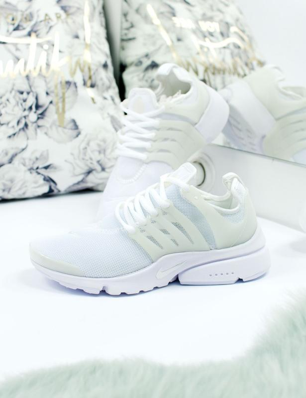 Шикарные женские кроссовки nike air presto white - Фото 2