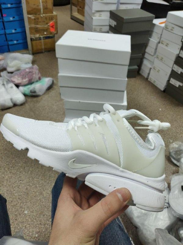 Шикарные женские кроссовки nike air presto white - Фото 3