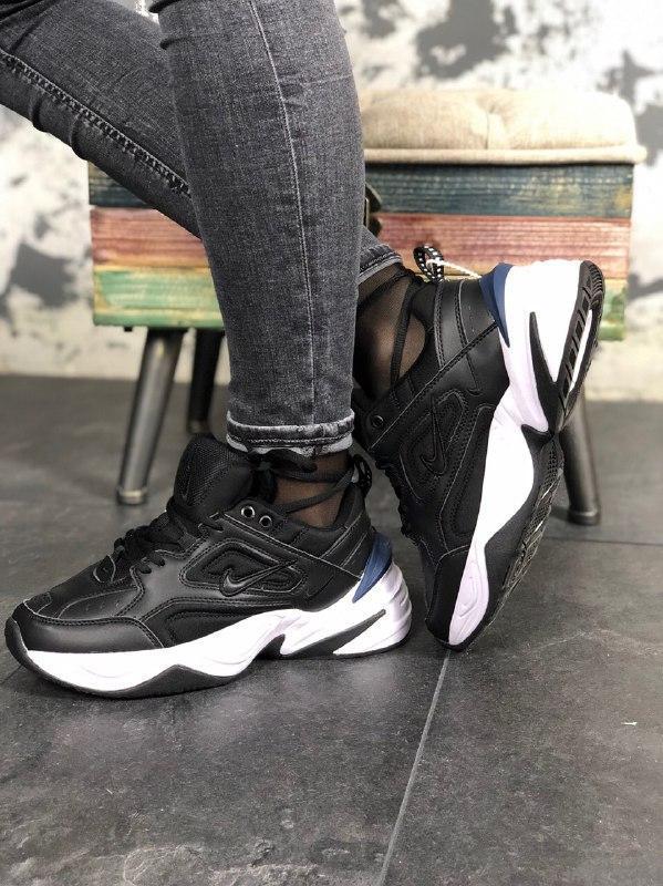 Шикарные кроссовки nike m2k black white