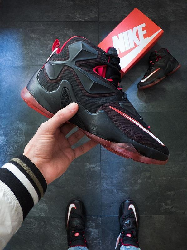 Шикарные мужские кроссовки nike lebron 13 akronite