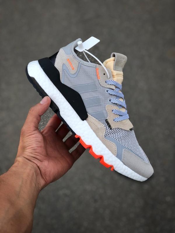 Шикарные мужские кроссовки adidas jogger grey
