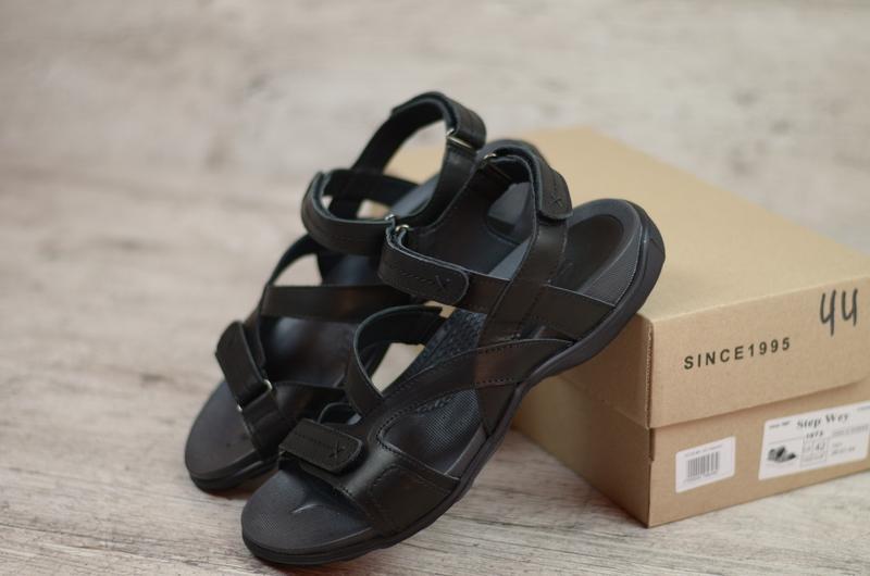Мужские сандалии, босоножки чёрные
