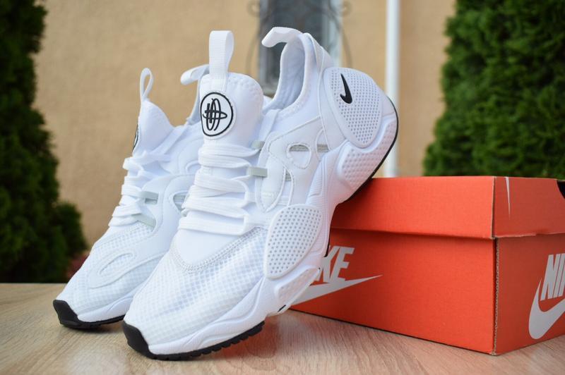 Шикарные мужские кроссовки nike huarache edge белые