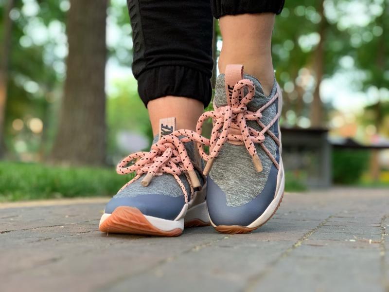 Шикарные женские кроссовки nike city loop pink - Фото 3