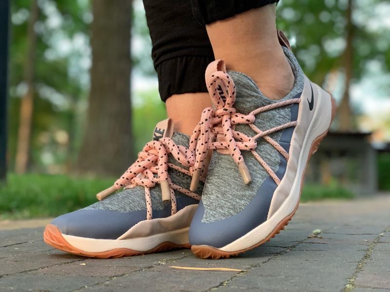 Шикарные женские кроссовки nike city loop pink - Фото 4