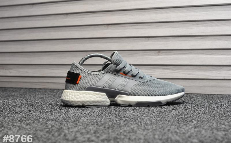 Шикарные мужские кроссовки adidas pod s3.1 silver