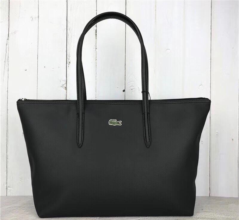 Женская сумка lacoste чёрная