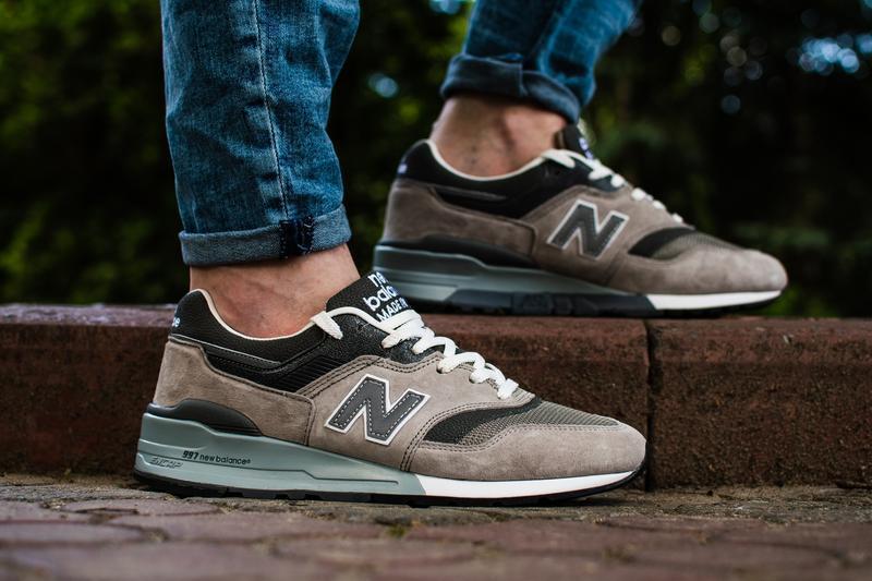 Шикарные мужские кроссовки new balance 997 серые