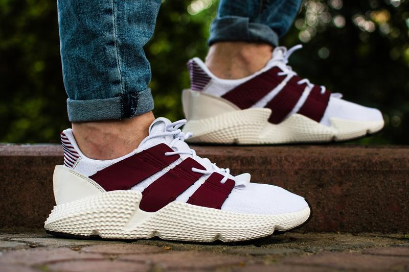 Шикарные мужские кроссовки adidas prophere white белые