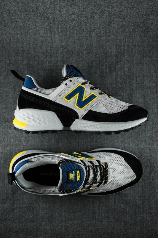 Шикарные мужские кроссовки new balance 574 v2 серые
