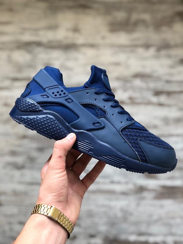 Шикарные мужские кроссовки синие
