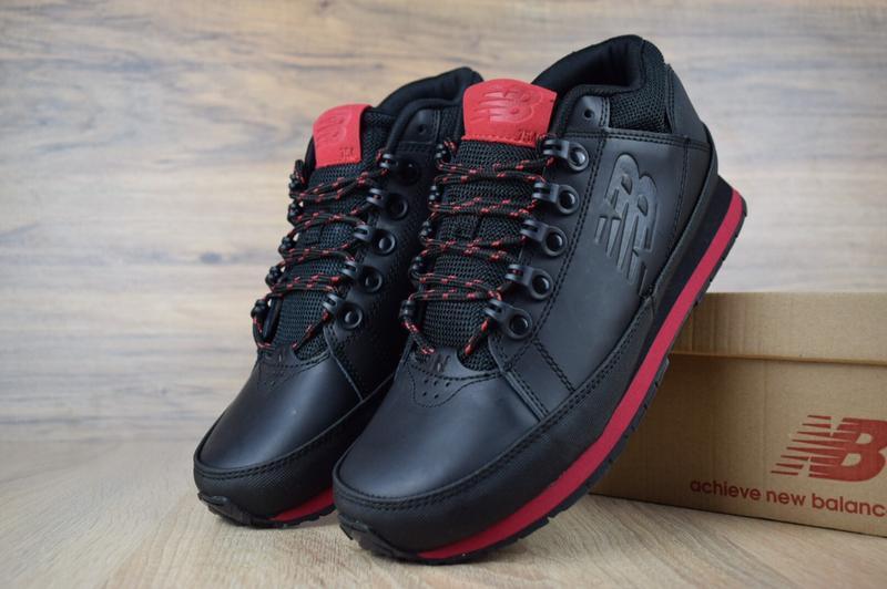 Шикарные мужские кроссовки ботинки new balance 754 черные с кр...
