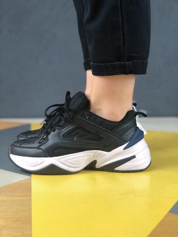 Шикарные кроссовки nike m2k tekno black white