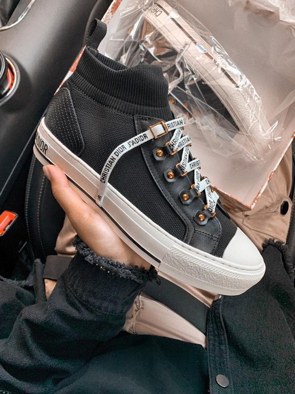 Шикарные женские кроссовки dior volution чёрные 😃 (весна лето ...