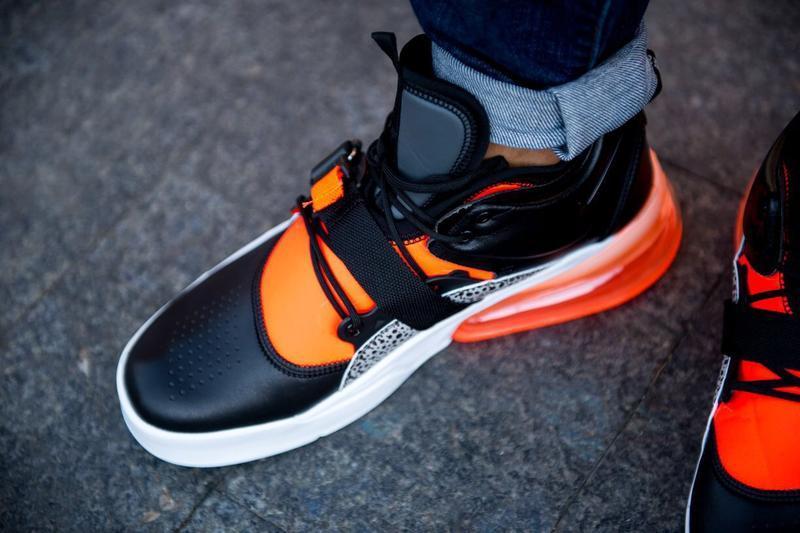 Шикарные мужские кроссовки nike air max 270 чёрные😃 (весна лет... - Фото 4