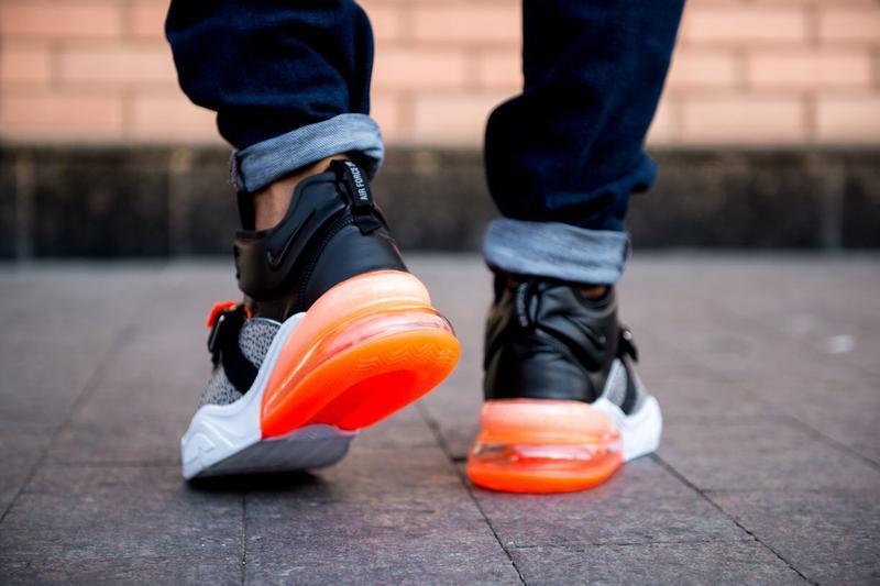 Шикарные мужские кроссовки nike air max 270 чёрные😃 (весна лет... - Фото 5