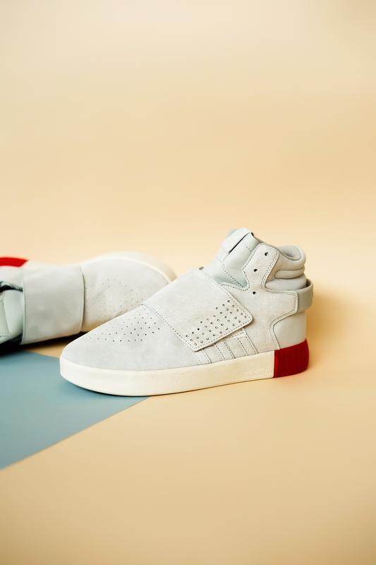 Шикарные мужские кроссовки adidas tubular beige red 😃 (осень /... - Фото 3