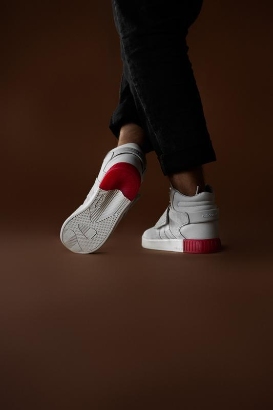 Шикарные мужские кроссовки adidas tubular beige red 😃 (осень /... - Фото 4