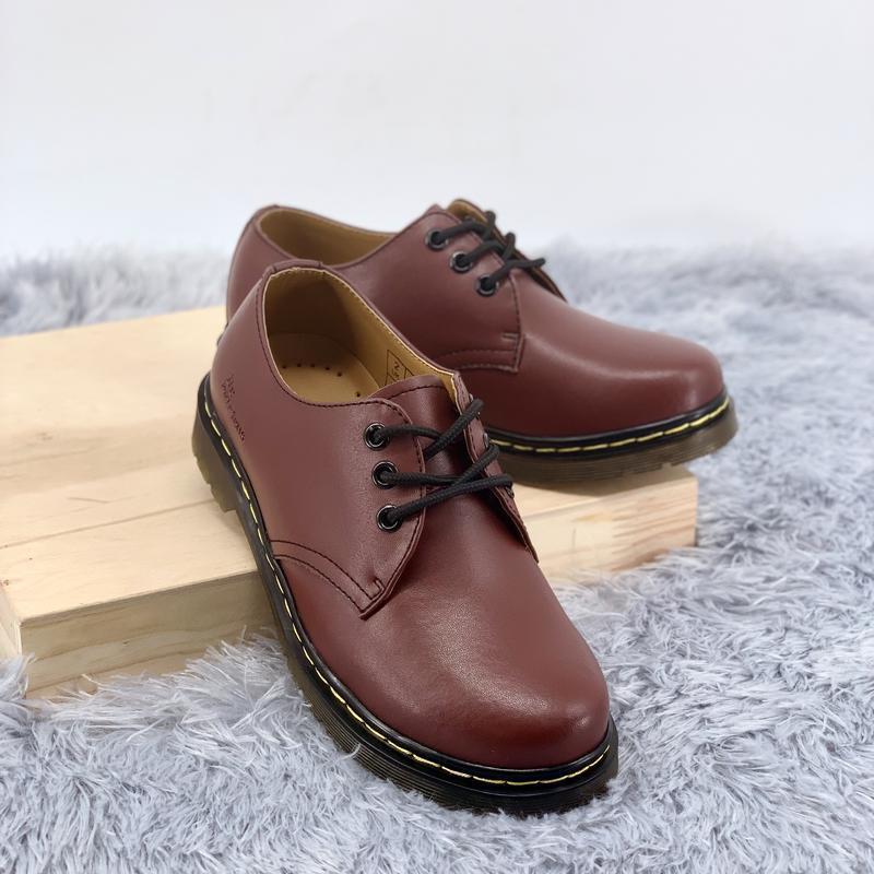 Шикарные туфли dr. martens 1461 cherry бордовые 😃 (весна осень)
