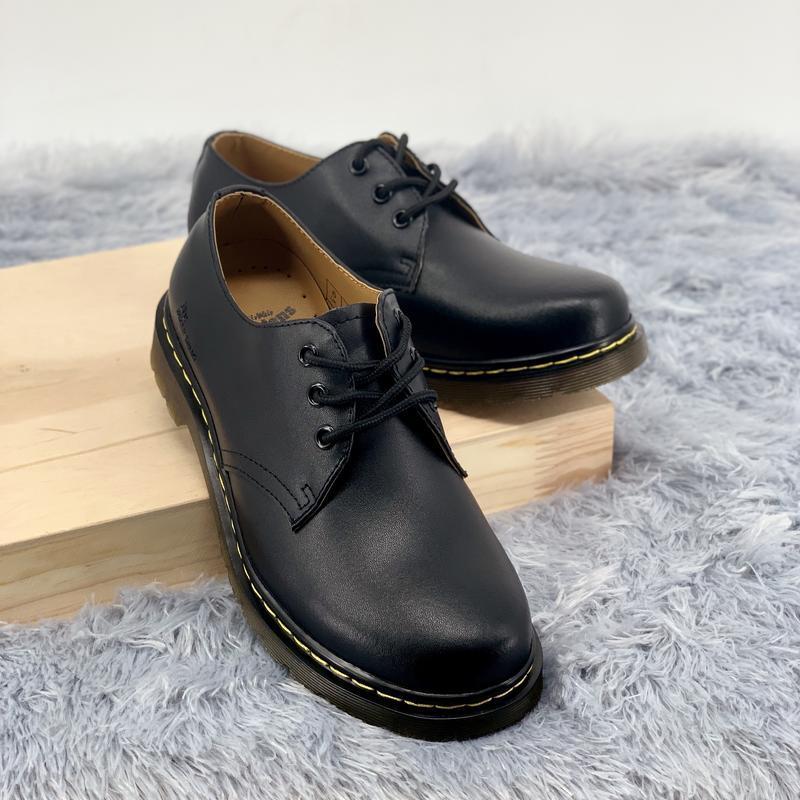 Шикарные туфли dr. martens 1461 black чёрные 😃 (весна осень)
