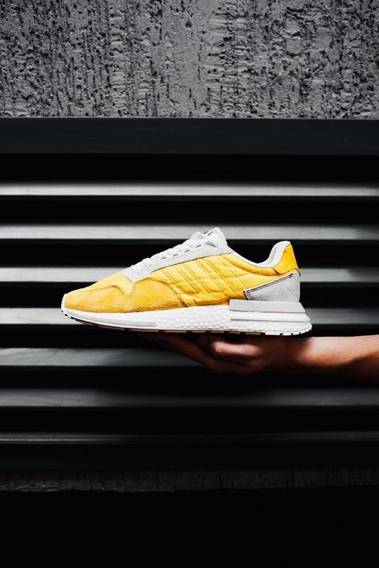 Шикарные мужские кроссовки adidas zx 500 rm bold gold желтые 😃... - Фото 4