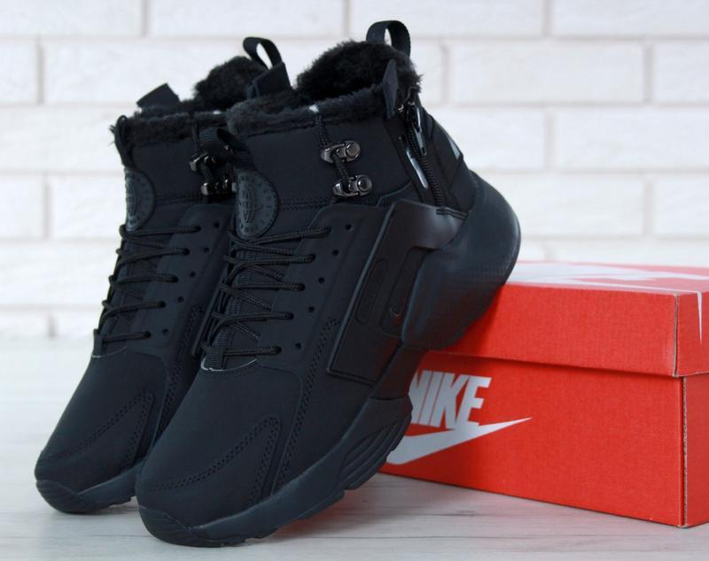 Шикарные мужские ботинки nike huarache x acronym city winter 😃...