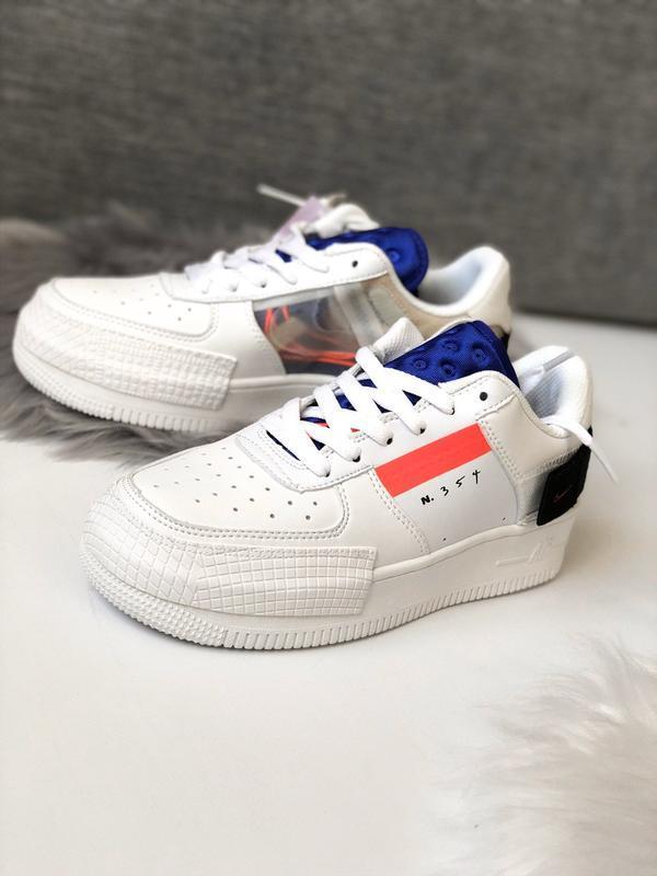 Шикарные женские кроссовки nike air force 1 low white белые😃 (...