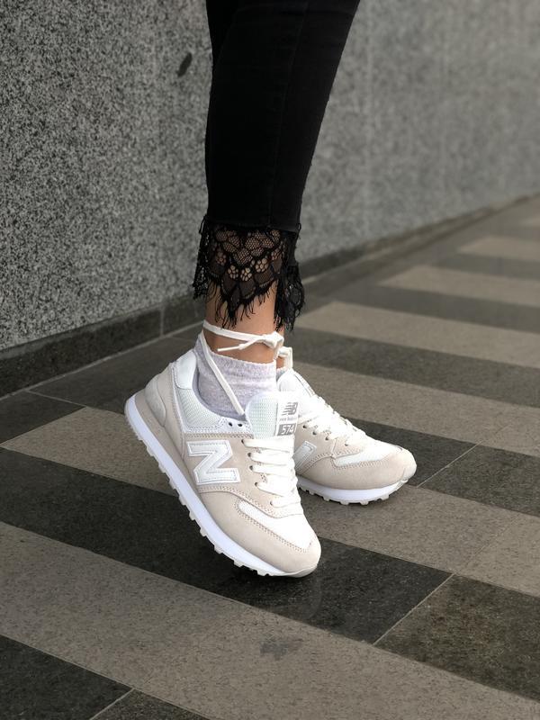 Шикарные женские кроссовки new balance 574 😃 (весна лето осень)