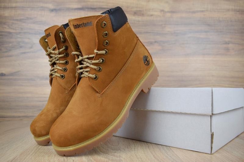 Шикарные женские ботинки timberland classic boot темно рыжие😃(...
