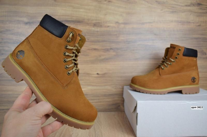 Шикарные женские ботинки timberland classic boot темно рыжие😃(... - Фото 2