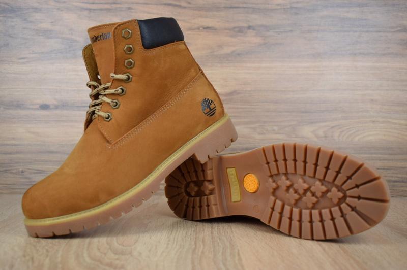 Шикарные женские ботинки timberland classic boot темно рыжие😃(... - Фото 3